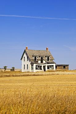 House in Ceylon on Highway 377, Saskatchewan, Canada