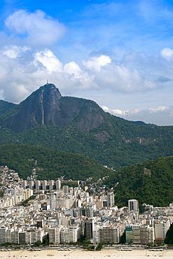 Ipanema and Corcovado, Rio de Janeiro, Brazil, South America