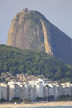Leme Beach and Sugar Loaf mountain, Rio de Janeiro, Brazil, South America