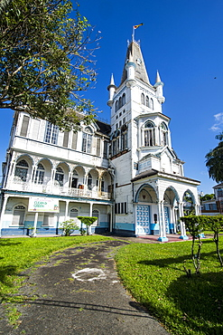 Historic Town Hall, Georgetown, Guyana, South America