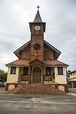 Church of Saint Laurent du Maroni, French Guiana, Department of France, South America