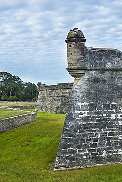 Castillo de San Marcos, St. Augustine, oldest continuously occupied European-established settlement, Florida, United States of America, North America
