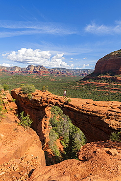 Devils Bridge, Sedona, Arizona, United States of America, North America