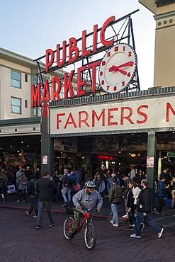 Public Market, Seattle, Washington State, United States of America, North America