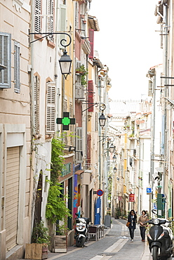 Streets of Marseille, Bouches du Rhone, Provence, Provence-Alpes-Cote d'Azur, France, Europe