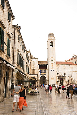 Dubrovnik old town, UNESCO World Heritage Site, Dubrovnik, Croatia, Europe