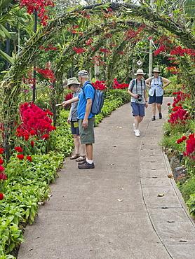 Visitors to the Botanic Gardens, Singapore, Southeast Asia, Asia