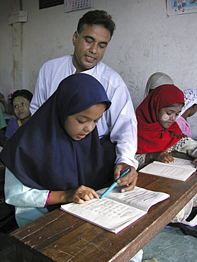 Thailand our school muslim school for burmese refugees, mae sot