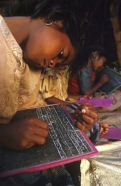 India - schools: village primary school, andhra pradesh