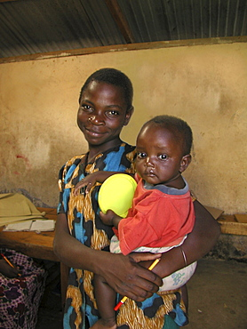 Kenya aids orphans of korogocho slum, nairobi