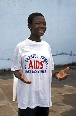 Ghana youths alive group acting prevention to school children, bongo bolgatanga (north ghana)