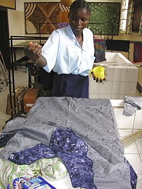 Gambia st.Josephs Adult education skills center, banjul dressmaking class