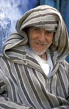 Morocco old man of chaouen