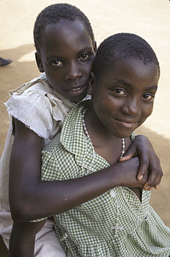 Uganda orphans at komwokya christian community centre, kampala.