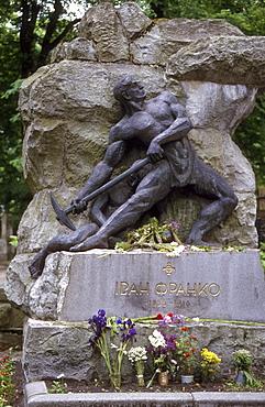 Ukraine - grave of franco