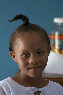 Jamaica. Girl of chester castle