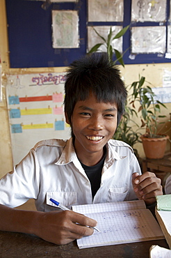 Cambodia sen sok primary school. anlon knang, a resettlement area outside phnom penh where poor people were moved when their inner city slum was developed