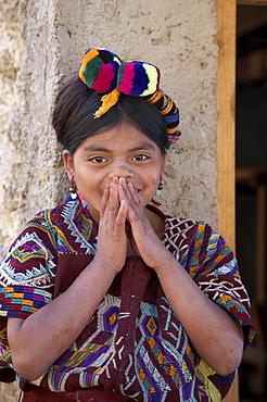 Guatemala child of chajul, el quiche