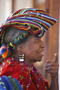 Guatemala mayan indian woman, chajul, el quiche