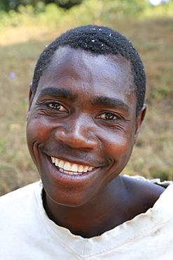 Burundi man of gitera..
