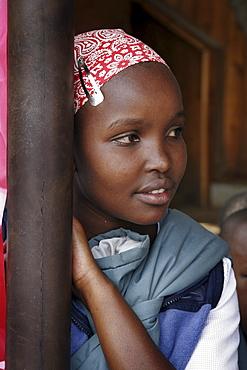 Kenya at a wedding mass, kibera slum, nairobi