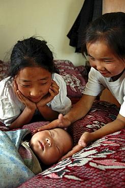 Mongolia children of ulaan baatar