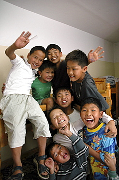 Mongolia the verbist center for street children and orphans, ulaan baatar