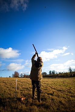 Gun shooting, Wales, United Kingdom, Europe