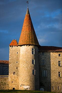 Chillac Chateau, La Charente, France, Europe