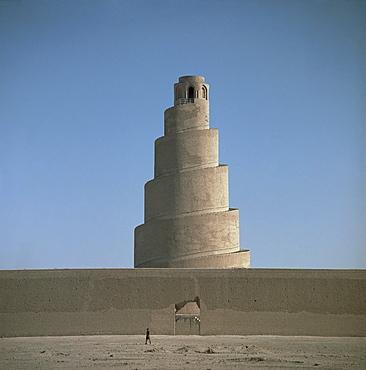 Minaret at Samarra, Iraq, Middle East