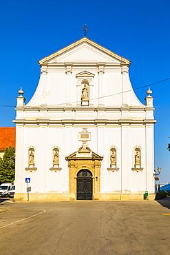 Saint Catherine of Alexandria church, Zagreb, Croatia, Europe