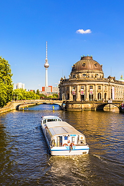 Bode Museum on the River Spree in Berlin, Germany, Europe