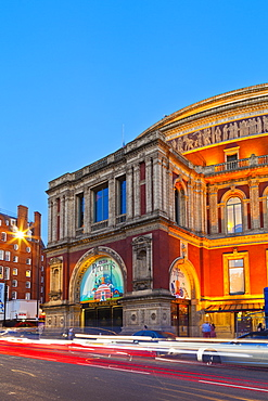 Royal Albert Hall at sunset in London, England, United Kingdom, Europe