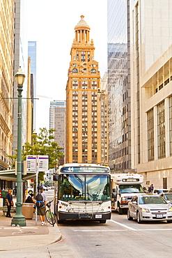 Street scene, Houston, Texas, United States of America, North America