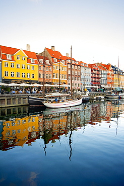 The old Merchant's Harbour, Copenhagen, Denmark, Europe