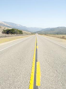 California 1 highway, the coast road, California, United States of America, North America