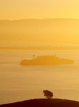 Alcatraz prison island, San Francisco, California, United States of America, North America