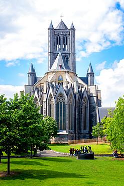 St. Bavo's Cathedral (Sint-Baafskathedraal), Ghent, West Flanders, Belgium, Europe