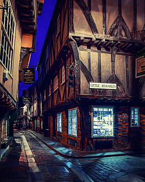The Shambles, York, Yorkshire, England, United Kingdom, Europe