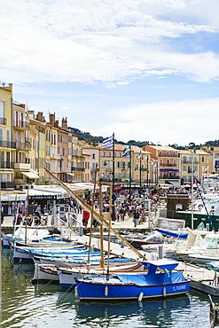 Quai Jean Jaures, Saint-Tropez, Var, Cote d'Azur, Provence, France, Mediterranean, Europe