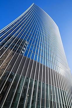 20 Fenchurch Street Building, nicknamed the Walkie Talkie due to its distinctive shape, City of London, London, England, United Kingdom, Europe