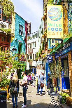 Neal's Yard, Covent Garden, London, England, United Kingdom, Europe