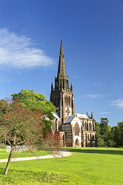 Church of St. Mary The Virgin at Clumber Park, Nottinghamshire, England, United Kingdom, Europe