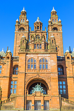 Glasgow Art Gallery and Museum, Glasgow, Scotland, United Kingdom, Europe