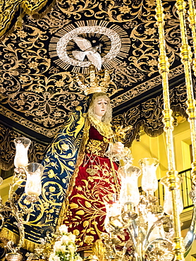 Antequera is known for traditional Semana Santa (Holy Week) processions leading up to Easter, Antequera, Andalucia, Spain, Europe