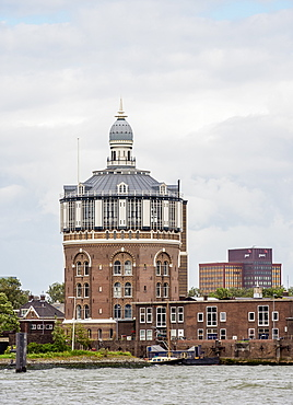 The Esch Water Tower, Rotterdam, South Holland, The Netherlands, Europe