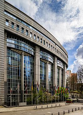 European Parliament Building, Brussels, Belgium, Europe