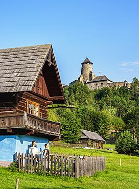 Open Air Museum at Stara Lubovna, Presov Region, Slovakia, Europe