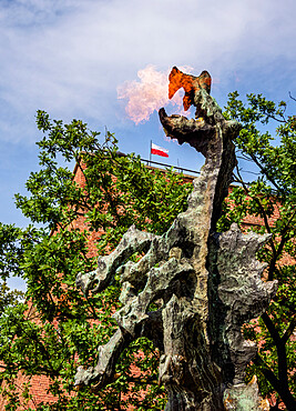 Dragon of Wawel Hill, Cracow, Lesser Poland Voivodeship, Poland