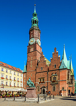 Old Town Hall, Market Square, Wroclaw, Lower Silesian Voivodeship, Poland